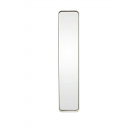 KELLY - Rectangular mirror - metal/mirror - white  - M - 76x16x5 cm