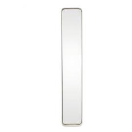 KELLY - Rechthoekige spiegel - metaal/spiegel - wit  - L - 91x16x5 cm