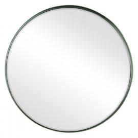 KELLY - round mirror - metal/mirror - pewter - M - Ø40x5 cm