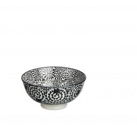 SAIGON BLACK - SAIGON BLACK - liane noir - bowl - porselein - S - D12 - porselein - DIA 12 x H 6 cm