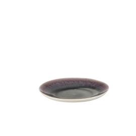BAMBOU - dessert bord - porselein - iris - D