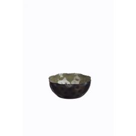FAVORIT' - Schaal -ijzer/geëmailleerd - vetiver groen - Ø13x5cm