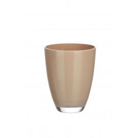 BÔ - vaas - glas - brons - S - Ø9x9 cm