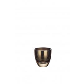 BÔ - vaas - glas - beige - M - Ø16,2x20 cm