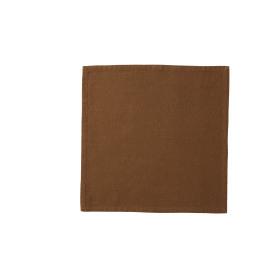 ORIGINE, serviette, 100% kat, tabacco, st wash, 40x40cm