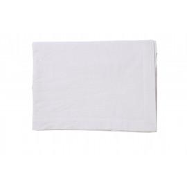 ORIGINE - tafelkleed - 100% katoen / 300 gsm - wit - stone washed - 170x310cm