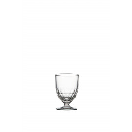 FACETTE - Wijnglas  -geperst glas -  23,7Cl - Ø7,8x11cm