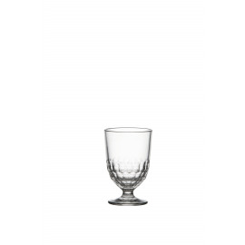 FACETTE - water glass - glass - DIA 8,3 x H 12,6 cm