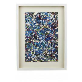 DELIRIO - muurdecoratie - papier - 80x60x5 cm