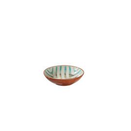 TRIBAL - pasta bowl - aardewerk - hand geschilderd