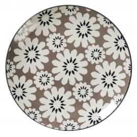 PISTIL - dessert bord - volcan - porselein - Ø21,5cm