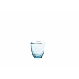 VICTOR - tumbler - glass - DIA 8,5 x H 9,5 cm - light blue