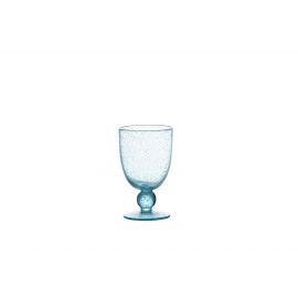 VICTOR - white wine glass - glass - DIA 9 x H 15 cm - light blue