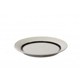 BRUT - dinner bord - aardewerk - Ø27 cm