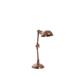 METRO - bureaulamp - brass - antiek koper - E27