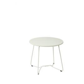 BÔ FI - kruk - MDF top/metalen frame - wit - DIA 50 x H 44 cm