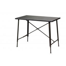 LOFT - tafel KD - MDF top/metaal - 120x60x91 cm