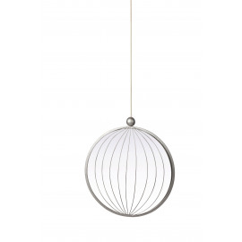 JEWELS - mirror round - metal - 40x4,5x113 cm