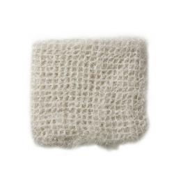 SOFTY - plaid - acrylic/lurex - naturel - 125x150 cm