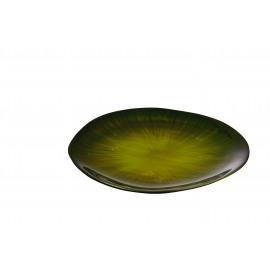 URBANISTIC - Bread plate - Aluminium - soja -  Ø18 cm