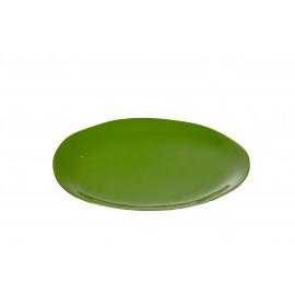 URBANISTIC - assiette à pain - aluminium - vert - PM - Ø18 cm
