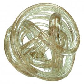 GRAPH - decoratieve bal - glas - goud - Ø12cm