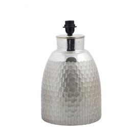 GAGO - table lamp - glass - silver matt -E27- 60W max - Ø25,5x35,5 cm