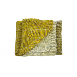 TRIVENT - plaid - acrylic/wol - 150x125 cm