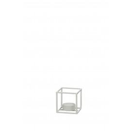 ZEN - T/light - ijzer - wit - S - 7x7x7 cm