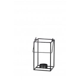 ZEN - lantaarn - ijzer - zink - 9x9x16 cm