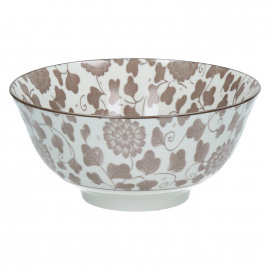 SAKURA - bowl - porcelaine - ash rose - GM - Ø15x7cm