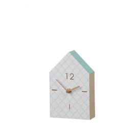 MAISON - clock - MDF - 12x19x6cm
