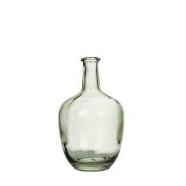 FARINA - fles - glas - lichtgroen - 19x19x31cm