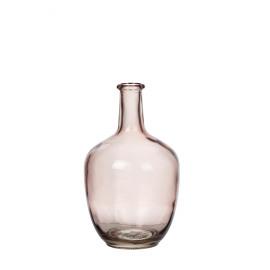 FARINA - fles - glas - lichtroze - 19x19x31cm