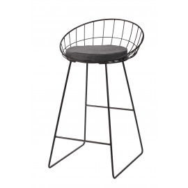 TREILLIS - barkruk - metaal - 50x50x85cm