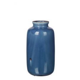 MAJESTÉ - vase - faïence - bleu - GM - 20x20x37,5