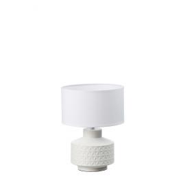 TOUPIE - tafel lamp - keramiek - wit - 23x23x33cm