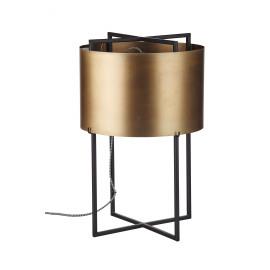 ALVAR - tafellamp met kap - metaal - 50x31x31cm
