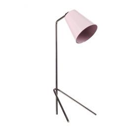 PLAYTIME - tafellamp - ijzer/ messing - licht roze - H53x20cm Ø13cm
