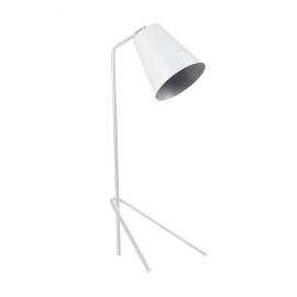 PLAYTIME - tafellamp - ijzer/ messing - wit - H53x20cm Ø13cm