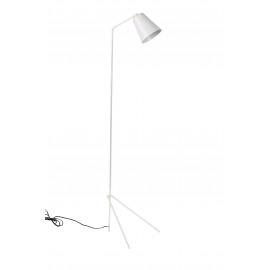 PLAYTIME - staanlamp - ijzer/ messing - wit - H130x31cm Ø13cm