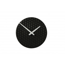 RIZÉ - clock - ceramic - black - 29x29x3,5cm