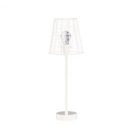 CABANE - table lamp - metal - white - 10x10x52cm