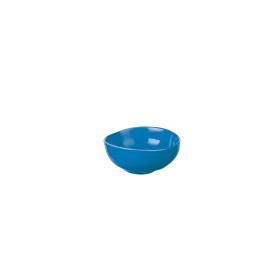 BIBI - bol - aardewerk - hand geschilderd - blauw - DIA 11 x H 4,5 cm