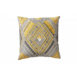 PAROS - cushion - printed cotton - 45x45cm