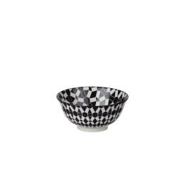 DZIPA - vaisselle - porcelaine - noir - PM - Ø15x7cm