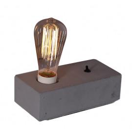 LUMIO - tafel lamp - beton - grijs - 20x10x5cm