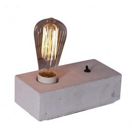 LUMIO - tafel lamp - beton - wit - 20x10x5cm
