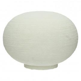 BE WARM - lamp bol - zandsteen - binnen gebruik - DIA 36cm