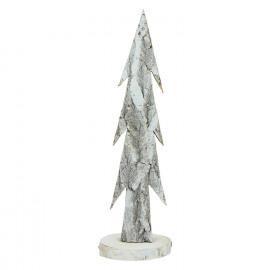 TRÄ - kerstboom - hout - naturel - M - H 40 cm